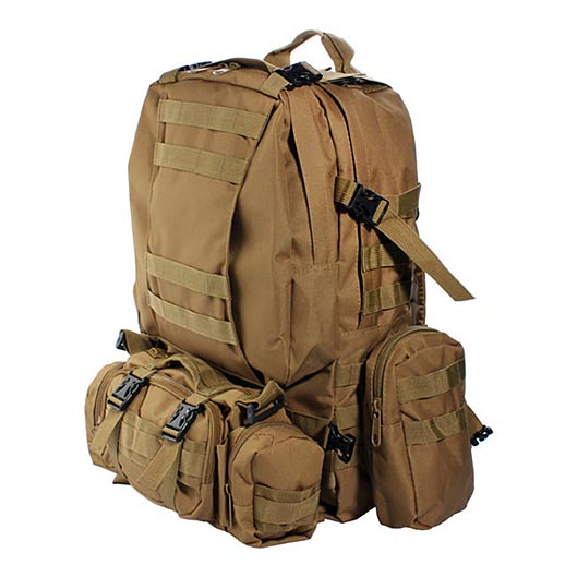 Camo Military Outdoor Tactical Backpack