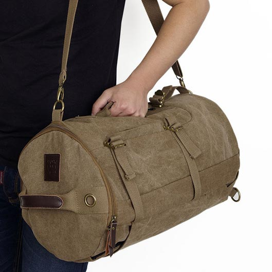 Canvas Backpack for camping 1