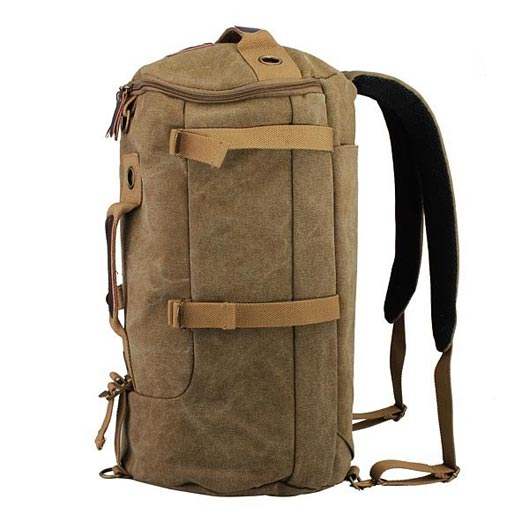 Canvas Backpack for camping 2