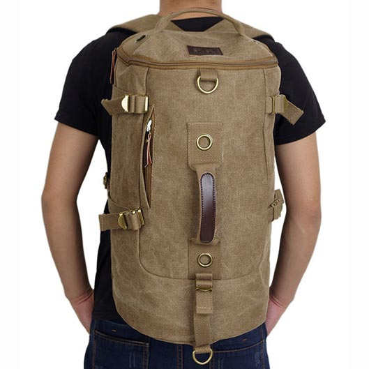 Canvas Backpack for Hiking 1