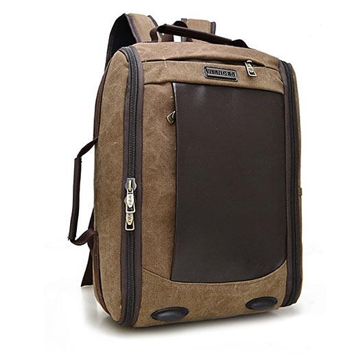 Canvas Men Laptop Travel Backpack