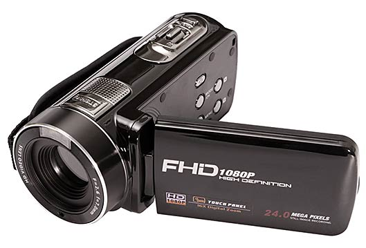 HD wide angle lens Sports DV action camera open lid