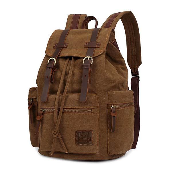 KAUKKO Canvas Outdoor Backpack