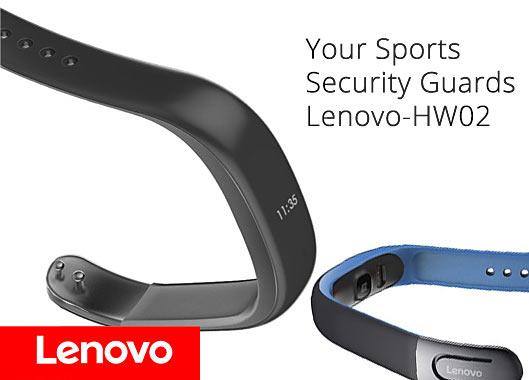 Lenovo HW02 Smartband heart monitor