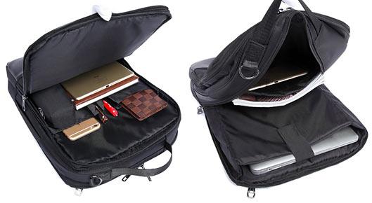 Men Nylon Backpack Business Travel