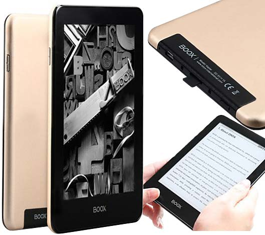 Onyx BOOX Kepler Pro 6 Ebook Reader, 6 Inch 300ppi HD Touch Screen, 1G+16G with Frontlight