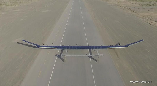 Solar-Powered Drone for long distance