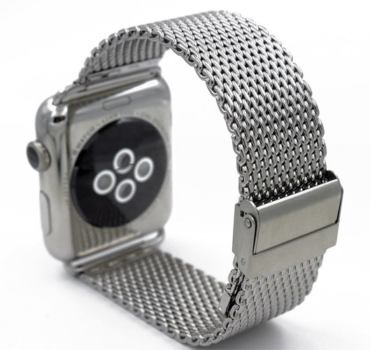 Stylish Apple Watch Stainless Steel Band