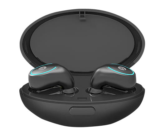 Truly Wireless Mini Earbuds front view