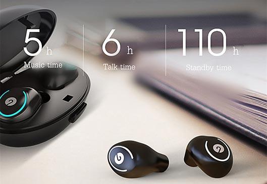 Truly Wireless Mini Earbuds