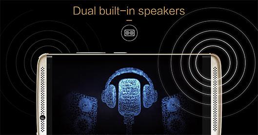 ZTE Axon 7 dual speakers
