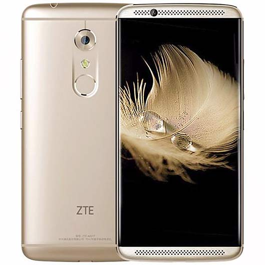 ZTE Axon 7 front and back