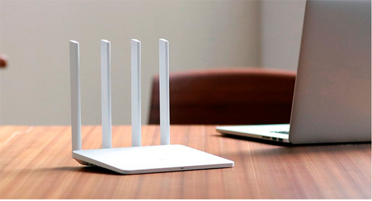 4 Antenna WiFi Router