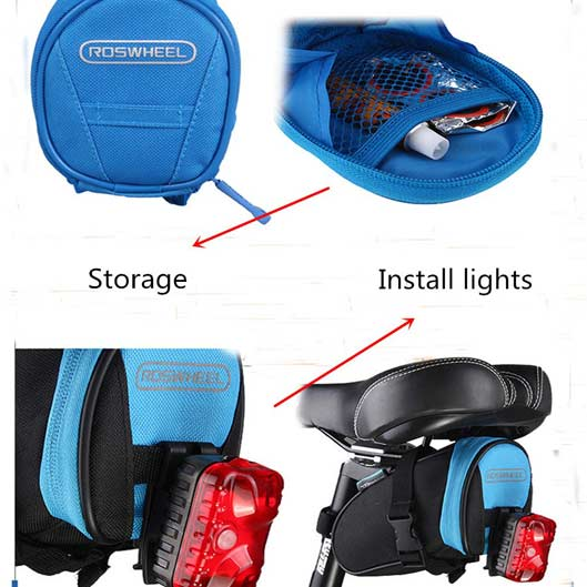 Bicycle rear Seat Pouch Saddle bag