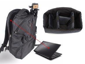 Camera Bag Nylon Travel Backpack review