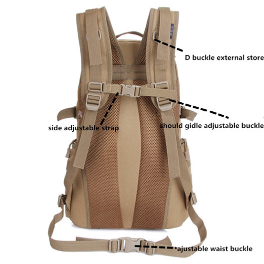 Camping Rucksack Outdoor Nylon Waterproof Backpack