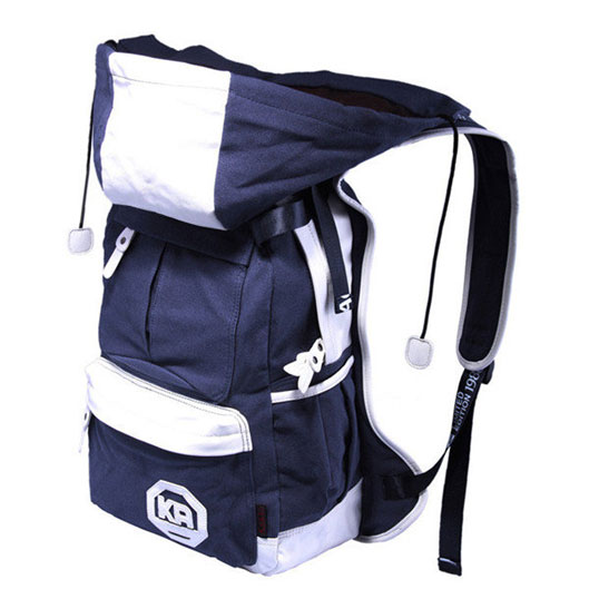 Canvas Carry-On Travel Detachable Hat Backpack
