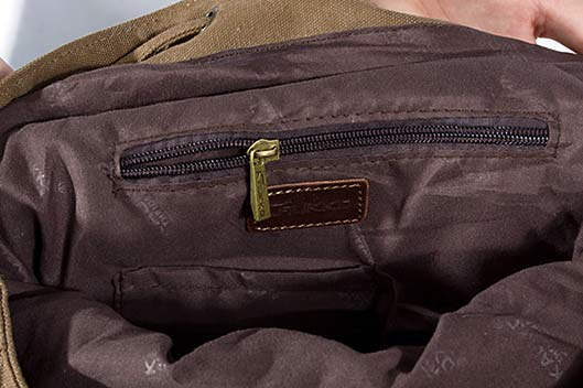 Canvas Compact Bag Travel Backpack