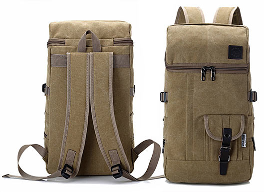 Canvas Outdoor Bag Travel Backpack