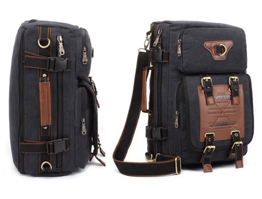 Canvas Travel Backpack for outdoor