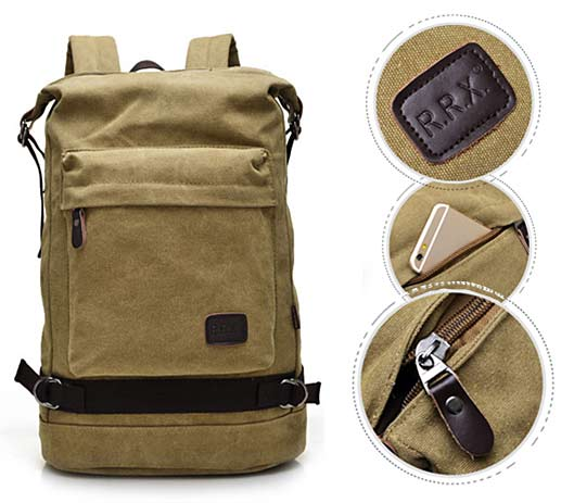 Casual Bag Canvas Travel Backpack