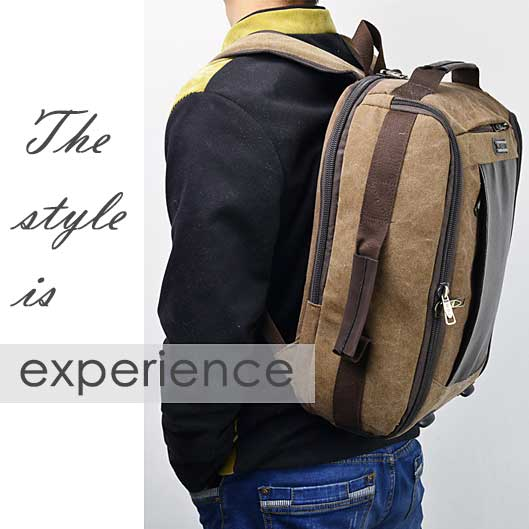 Casual Canvas Outdoor Bag Travel Backpack