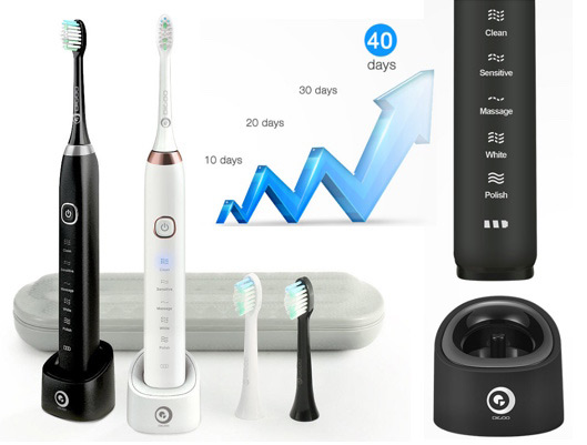 Essence Sonic Electric Rechargeable Toothbrush