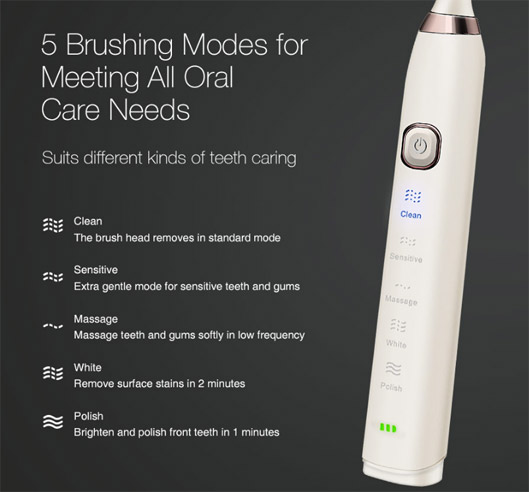 Essence Sonic Electric Toothbrush