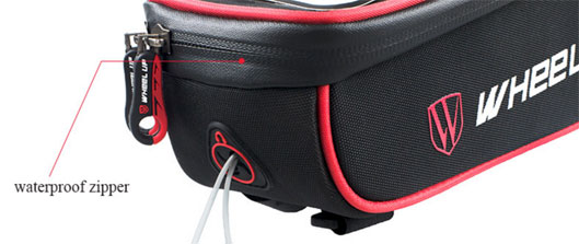 Front Frame Tube bag Bicycle Waterproof case