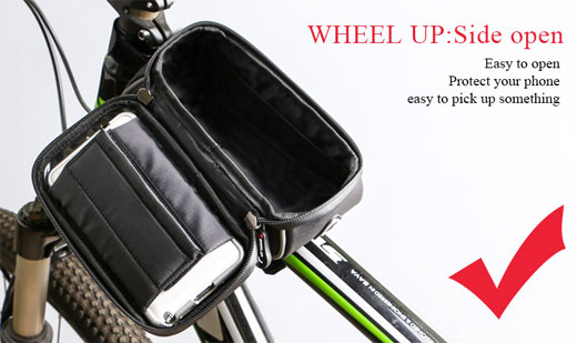 Front Frame Tube Case Bicycle Waterproof Bag