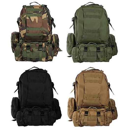 Military Waterproof Travel Backpack