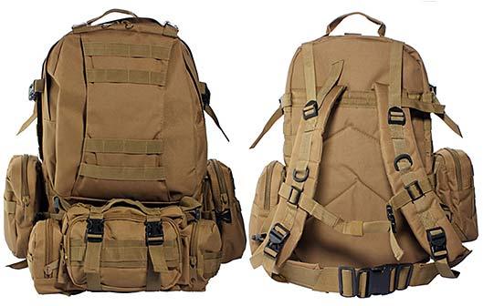 Outdoor Military Waterproof Travel Backpack