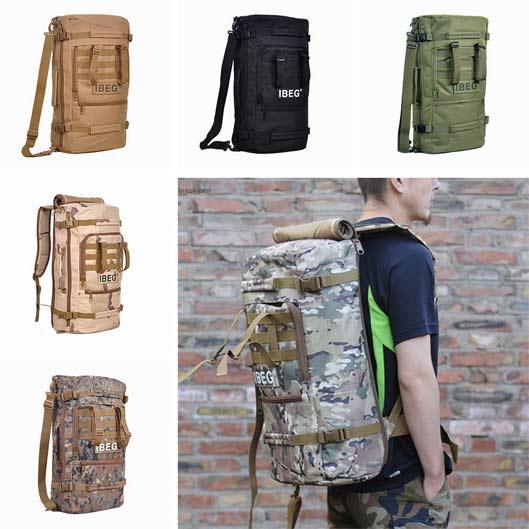 Outdoor Nylon Rucksack Large Travel Backpack