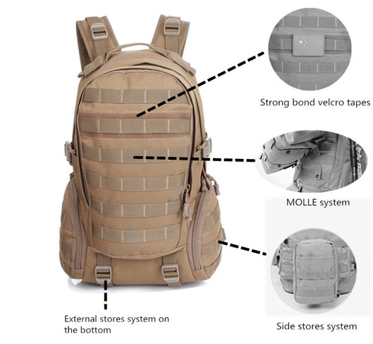 Outdoor Nylon Waterproof Backpack