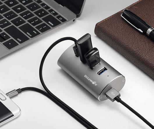 Portable High Speed USB 3.0 Hub