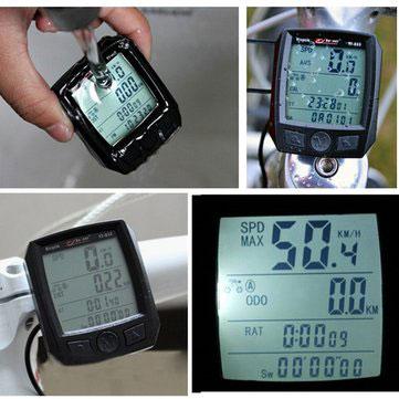 Smart waterproof Wireless Bicycle Computer