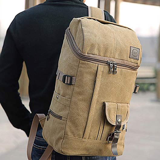 Stylish Canvas Outdoor Bag Travel Backpack