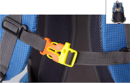 Stylish Nylon Backpack Large Camping Rucksack
