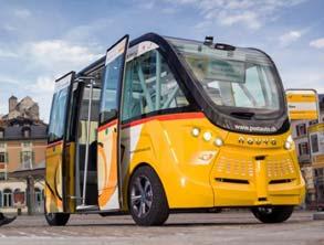 Tech News, First Self-Driving Bus