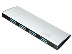 Ultra Slim Portable 4-Port USB 3.0 Hub review