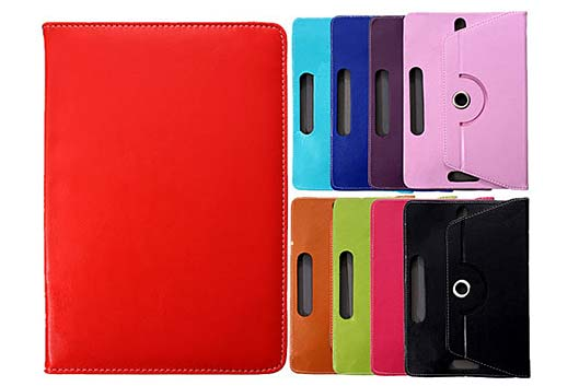 Universal 360 Degree Rotating Folio Case For Tablets
