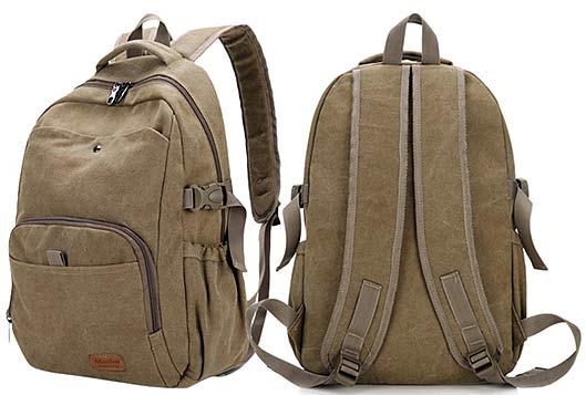 Urban Canvas Bag Travel Backpack