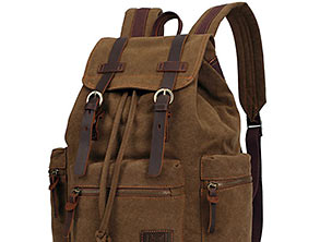 Vintage Canvas Outdoor Bag Travel Backpack review