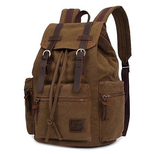 Vintage Canvas Outdoor Bag Travel Backpack
