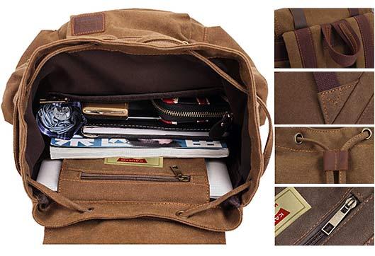Vintage Outdoor Bag Travel Backpack