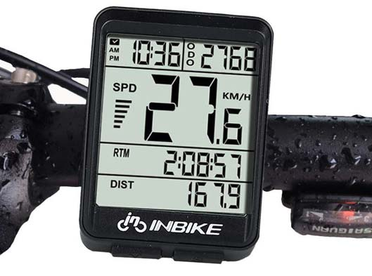 Wireless Bicycle Computer Smart Bike Odometer