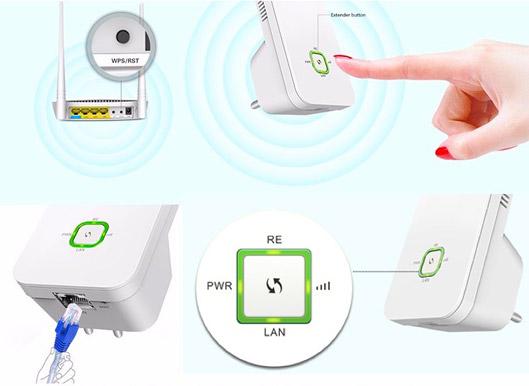 Wireless Universal WiFi Range Extender review