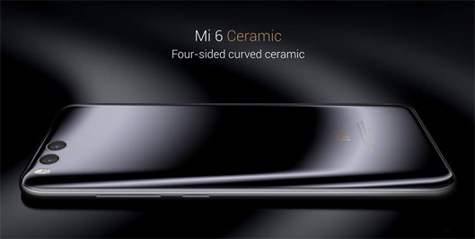 Xiaomi Mi6 Ceramic back side
