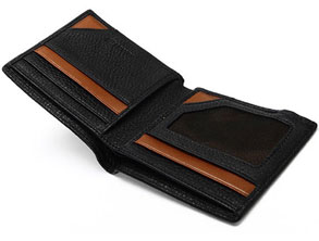 Anti-theft Leather Smart Wallet