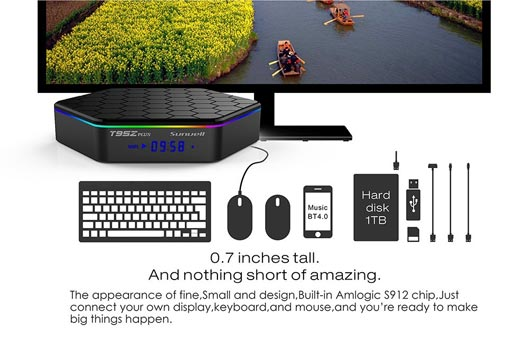 Big Capacity Hard Drive Best Android Mini TV Box